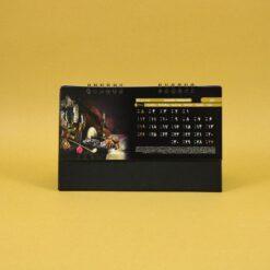 490 247x247 - تقویم رومیزی سلفونی جام پایه مشکی کد :۴۹۰