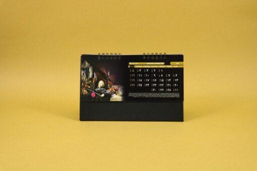 490 510x340 - تقویم رومیزی سلفونی جام پایه مشکی کد :۴۹۰