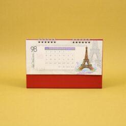 492 247x247 - تقویم رومیزی سلفونی جهان پایه قرمز کد : ۴۹۲