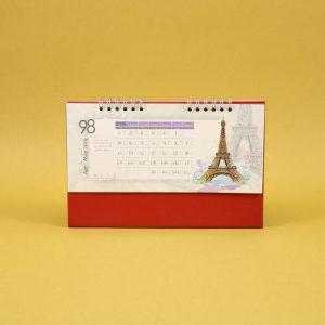 492 300x300 - تقویم رومیزی سلفونی جهان پایه قرمز کد : ۴۹۲