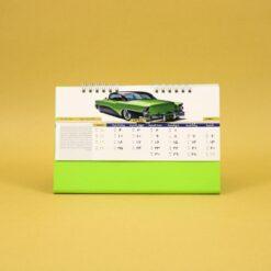 493 247x247 - تقویم رومیزی سلفونی ماشین پایه سبز کد:۴۹۳