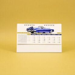 494 247x247 - تقویم رومیزی سلفونی ماشین پایه سفید کد:۴۹۴