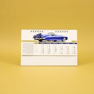 494 300x300 - تقویم رومیزی سلفونی ماشین پایه سفید کد:۴۹۴