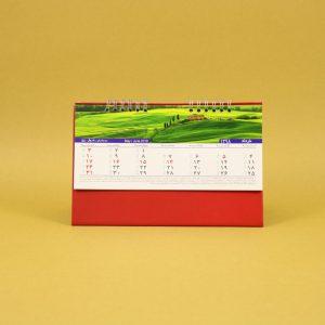 495 300x300 - تقویم رومیزی سلفونی طبیعت پایه قرمز کد : ۴۹۵