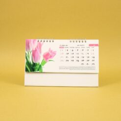 497 247x247 - تقویم رومیزی سلفونی گل پایه سفید کد : ۴۹۷