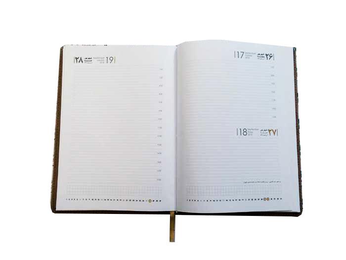 روزشمار پنجشنه جمعه با هم - نکات سفارش سررسید یا سالنامه