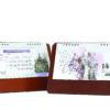 تقویم رومیزی 1400 طرح جهان کد 906